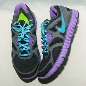 Nike Womens sz 9 Lunarglide 3 Running Shoes
